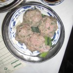 Beef Meatballs...with Green...