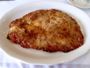 This is chicken parmesan perfection.