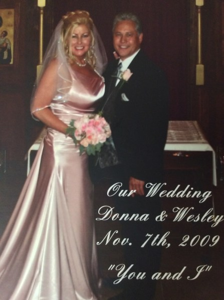 Donna and Wes say I do