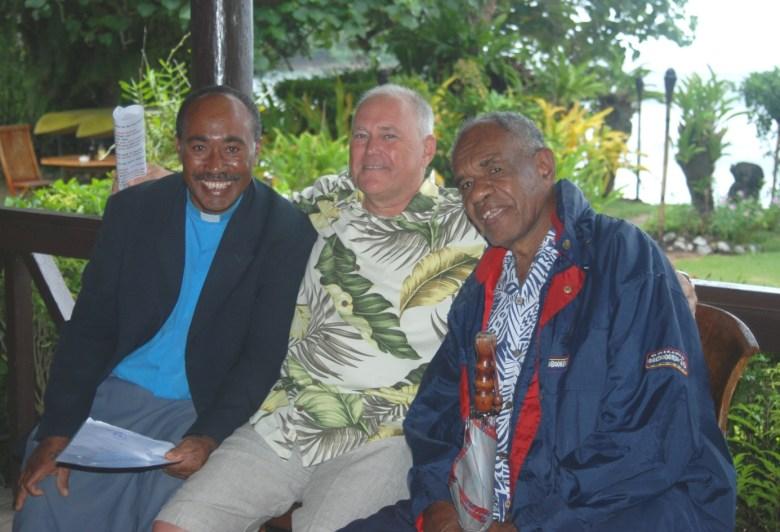 Fiji elders coach the groom