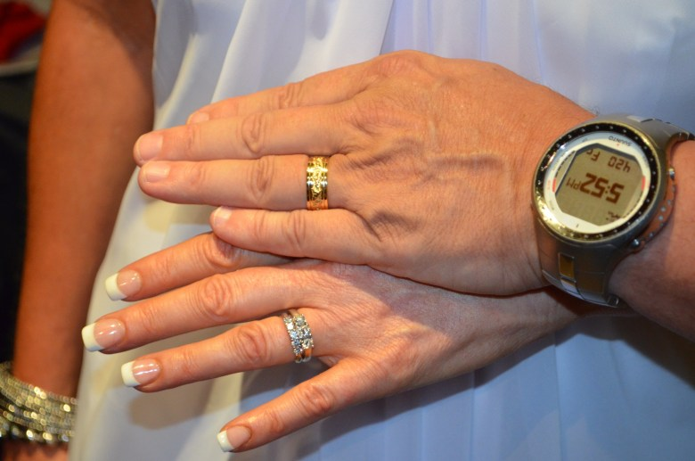 Two rings and one big watch!