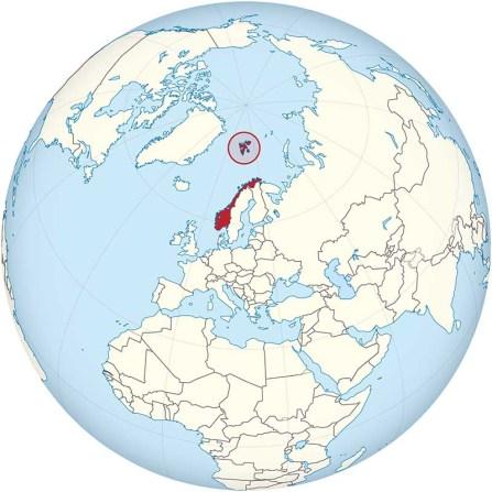 Localización Svalbard