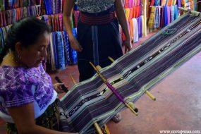 El telar y el tejido