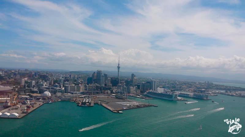 Primeros días en Nueva Zelanda