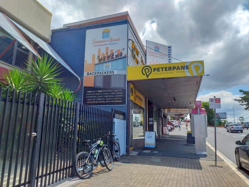 Summer House, hostal barato en Brisbane.