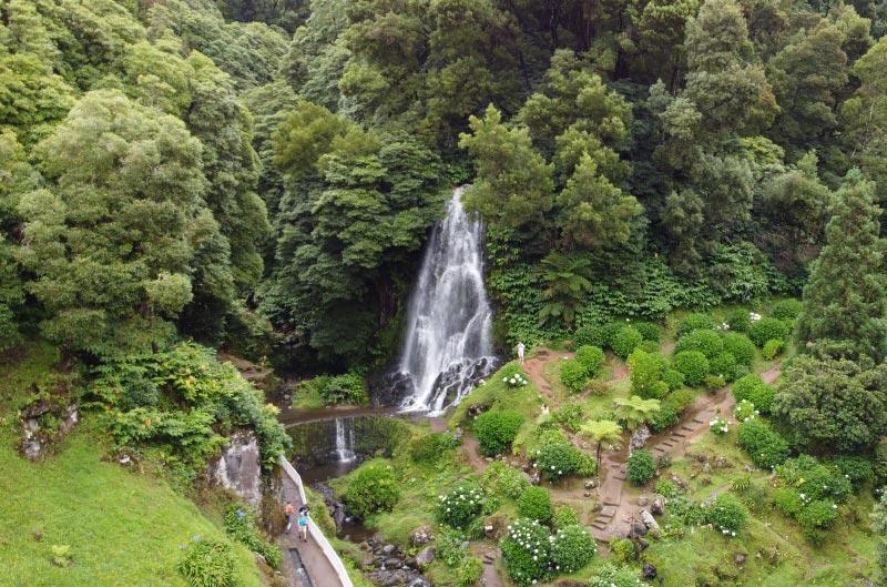 Parque natural que ver en Sao Miguel, Azores.