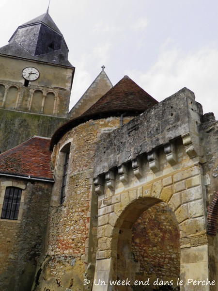 Eglise de St Agnan sur Erre