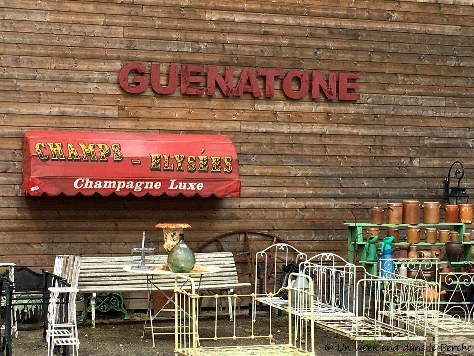 guenatone, décoration brocante - nogent-le-rotrou - un week-end dans