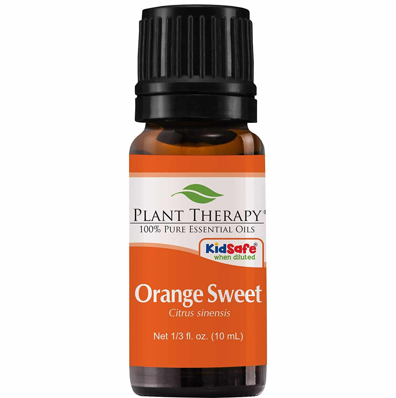 Orange Peace and Calming Essential Oil Blend Recipe
