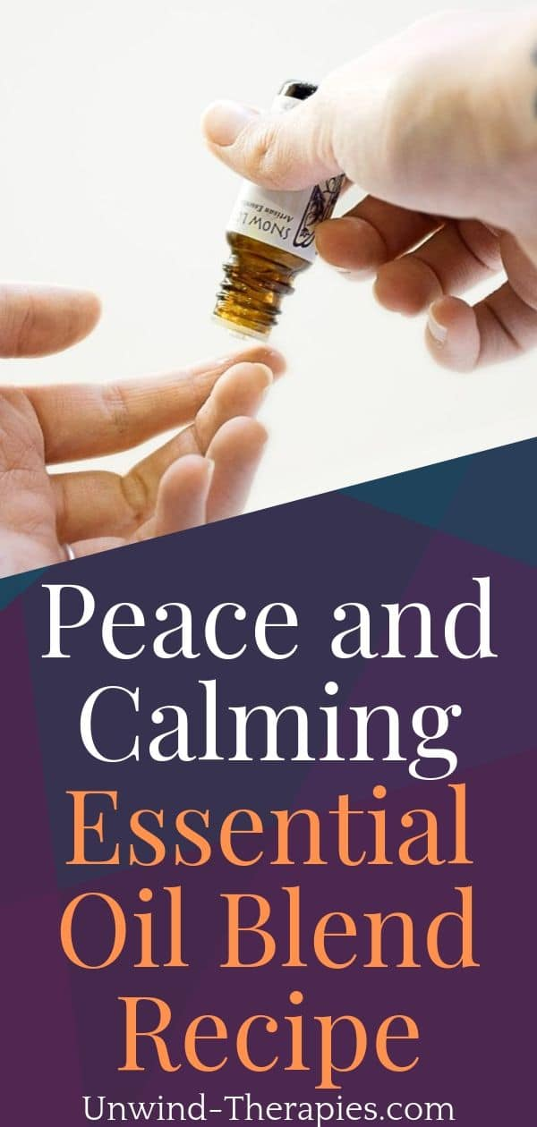 Peace and Calming Essential Oil Blend Recipe