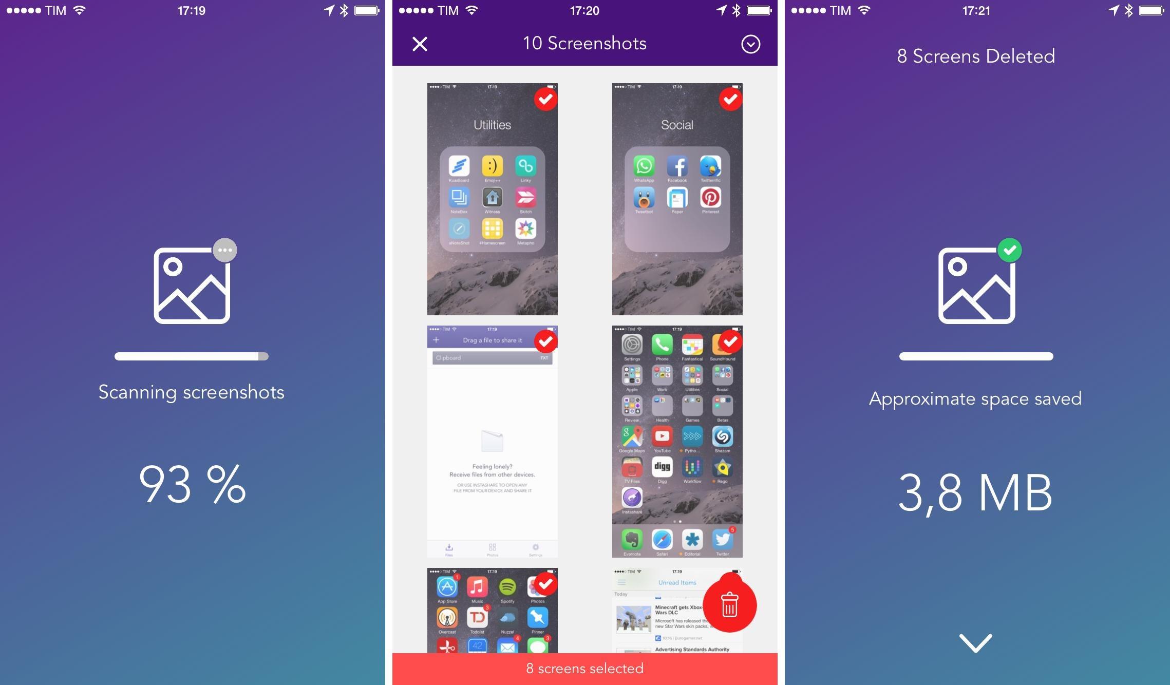 實用軟件一次刪除 iPhone 所有螢幕截圖 - UNWIRE.HK