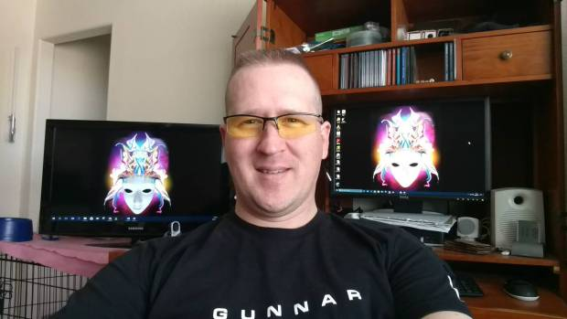 Me, My GUNNAR Emissary's, and The Home Office