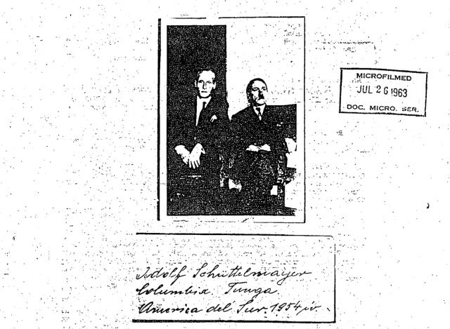 ФБР тихо рассекретило документы, о том, что Гитлер бежал в Аргентину в 1945 году. Adolf-Hitler-1963-picture-Adolph-Schuttlemayer