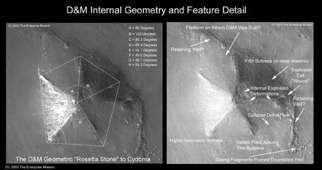 Документы ЦРУ — Древняя инопланетная раса на Марсе была уничтожена неизвестным вторжением. Sheep10