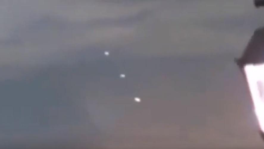 НЛО над Дубаем