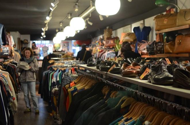 Thrift store Amsterdam