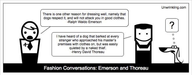 thoreau on fashion - ralph waldo Emerson
