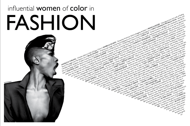 influential women of color fashion