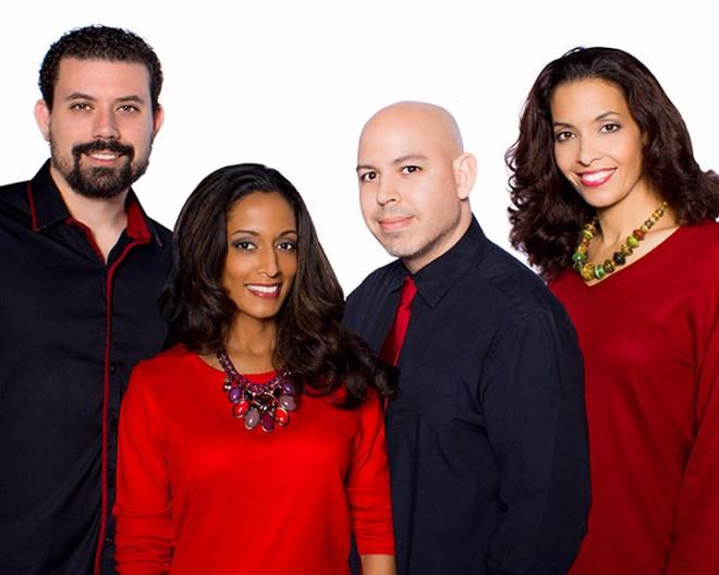 The founders of Christian Fashion Week. Jose Gomez is pictured on the far left. Photo courtesy Christian Fashion Week