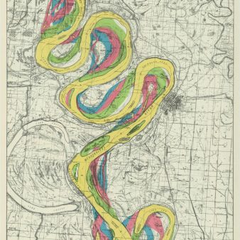 RG 77 Mississippi River Commission, Early Stream Channels NAID 21986541 1938 Sheet 7