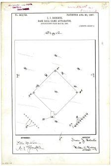 Base Ball Game Apparatus, 1907