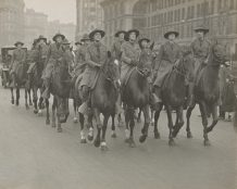 Cavalry Corps of the American Woman's League for Self Defense. 165-WW-143-B4