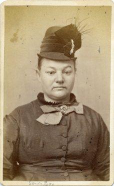 Sarah Page. Received January 29, 1878.