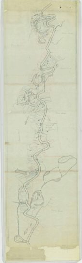 """Manuscript Map showing """"Plantations Leased"""" and """"Plantations Not Leased"""" NAID 26465535. https://catalog.archives.gov/id/26465535"""