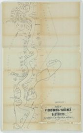 Plot of Vicksburg and Natchez Districts. For Leasing Abandoned Plantations., part 2. NAID 26465537. https://catalog.archives.gov/id/26465537