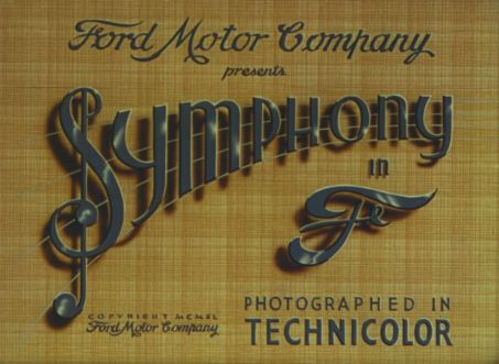 """A symphony in the key of F--the F stands for """"Ford."""""""
