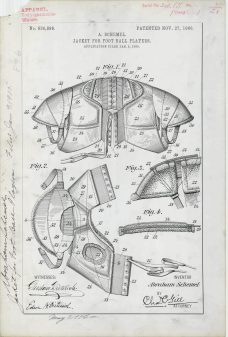 A. Schemel's Jacket for Football Players https://catalog.archives.gov/id/6104280