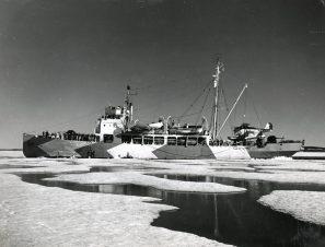 Original Caption: USCG Cutter Northland, WPG-49 on Greenland Patrol. Local Identifier: 26-G-2988 (Box 45)