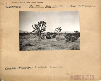 "Local ID: 30-N-09044 (Box 269) ""A. L. Westguard. November 1912."""