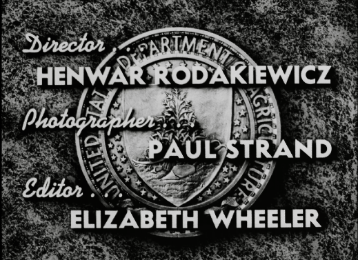 """Opening Credits for """"It's Up to You"""" (208.50) showing Director, Photographer, and Editor"""