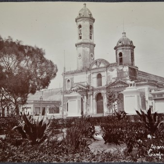 "Original Caption: ""Spanish Cathedral, Cienfuegos, Cuba."" 94-SAW-20 (NAID: 158095348)"