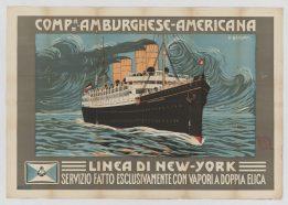 Hamburg-America, New York Line - Local Photo ID: 85-P-2 and NAID 101119056