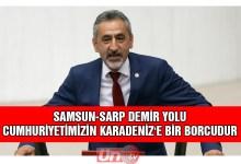 Milletvekili Adıgüzel Demiryolu Projesini TBMM'ye Taşıdı