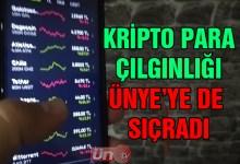 Kripto Para Çılgınlığı Ünye'ye de Sıçradı