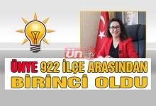 Ünye Kadın Kolları Türkiye Birincisi Oldu