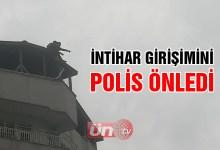 Ünye'de İntihar Girişimini Polis Önledi