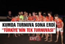Türkiye'nin Tek Turnuvası Renkli Geçti