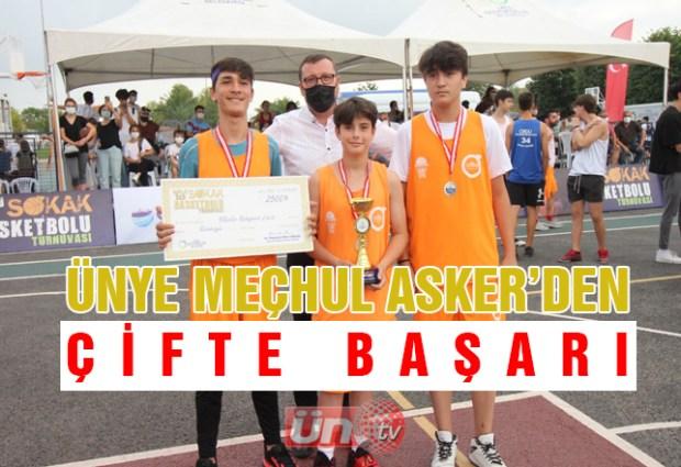 Ünye Meçhul Asker'in Basketbol Başarısı
