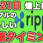 暗号通貨4月21日最新リップル速報【仮想通貨】