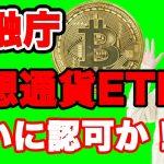 【仮想通貨】金融庁がETF承認か!?