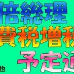 【悲報】安倍晋三首相「消費税率予定通り引き上げ」2019年1月6日