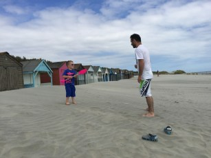 Daddy & Son, West Wittering