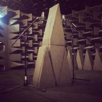New hemi-anechoic chamber up and running!