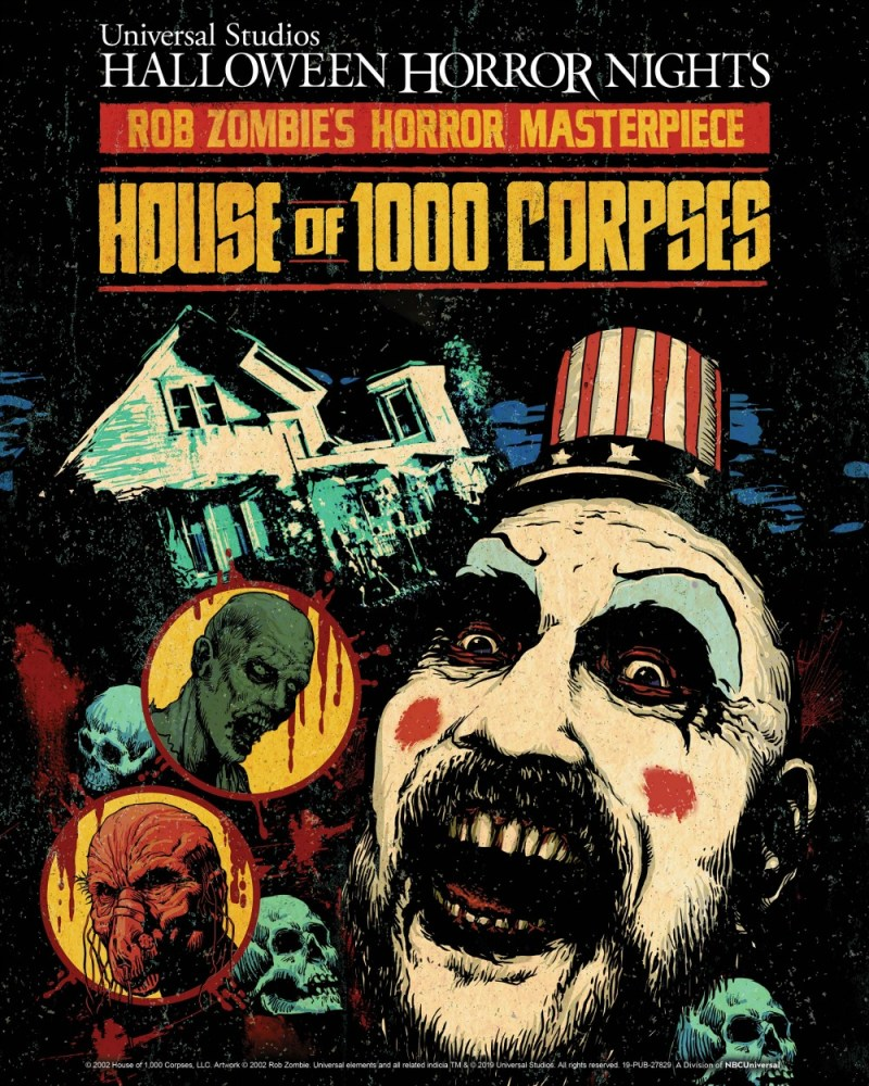 House of 1000 Corpses is Coming to Universal Studios Halloween Horror Nights 2019