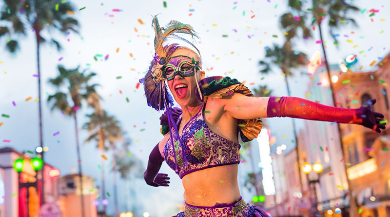 Universal Mardi Gras Returns February 5, 2022