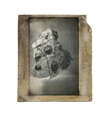 Collection series, 14 photo-intaglio and toner transfer prints